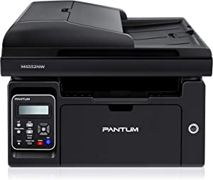 Pantum M6552NW All in One Laser Wireless Monochrome Printer, Convenient Networking Mobile Printing, Improve Home and School Office Efficiency