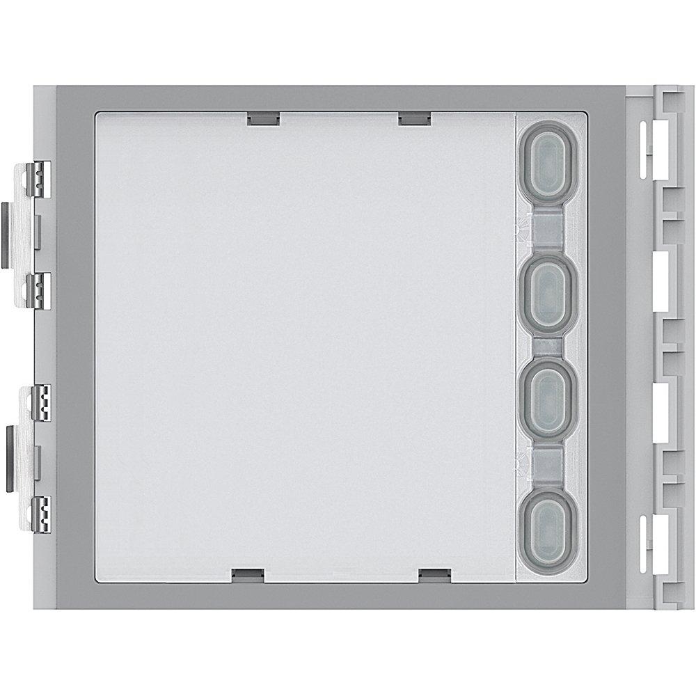 352041 Aluminium Allme Legrand Front Bezel for Call Button Module 4RT System Silver