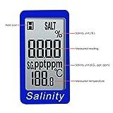 Salinity & Temp Meter Pen Type Salt Water Quality
