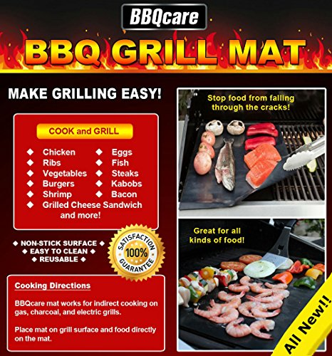 BBQ GRILL MAT SET NON STICK product image
