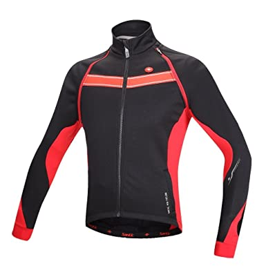 297c9f139 Hi8 Men s Winter Cycling Jacket Thermal Long Jersey Windproof Biking Coat  (CN-M