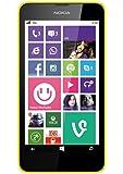 Nokia Lumia 630 Smartphone, 8 GB, Giallo [Italia]