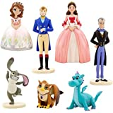 Sofia the First 7 Piece Figure Play Set Featuring Sofia, King Roland II, Queen Miranda, Baileywick, Clover Crackle, and Baby Griiffin