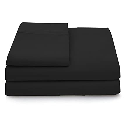eb0c0655622 Cosy House Collection Luxury Bamboo Sheets - 3 Piece Bedding Set - High  Blend from Natural Bamboo Fiber - Soft Wrinkle Free Fabric - 1 Fitted  Sheet, 1 Flat, ...