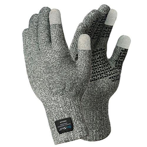 Dotted Mens Glove - DexShell TechShield Waterproof Gloves Large