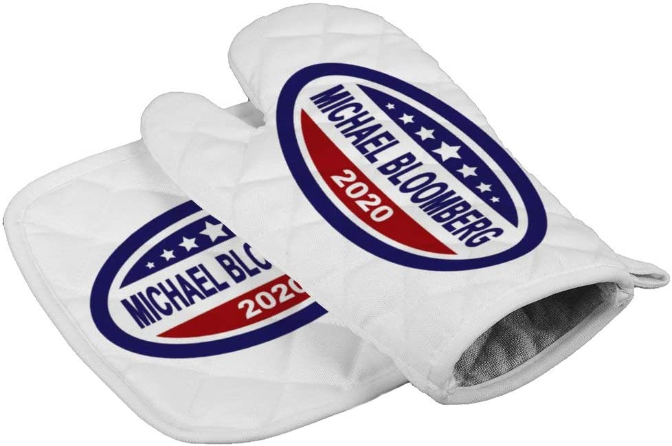 LijiahuaMitts Michael Bloomberg for President 2020 Heat Resistant Oven Mitts and Pot Holders,Safe Kitchen Cooking Baking Grilling