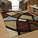 "Orian Rugs Geometric Oval Day Multi Area Rug (7'10"" x 10'10"")"