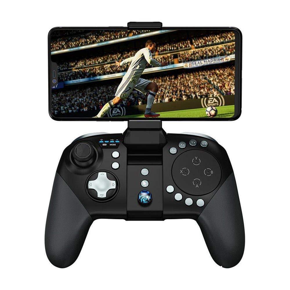 ASDQ G5 Bluetooth 5.0ゲームパッド、2.4Gキーボードおよびマウスコンバータ Bluetooth、Pubgモバイルコントローラ G5、ワイヤレストラックパッド ASDQ、アンドロイドFortnite用ブラケットジョイスティック付きタッチパッド。 B07Q2YXX8W, 北松浦郡:bff79ce7 --- gamenavi.club