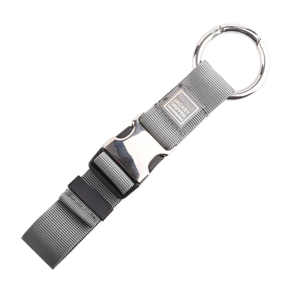 Add A Bag Luggage Strap Jacket Gripper,Baggage Suitcase Straps Belts Travel Accessories Jacket Straps for Bag Gray