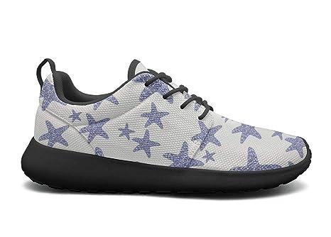 7353fb08d7e6b Amazon.com: LOKIJM Holiday Starfish sea Stars Tennis Shoes for Men ...