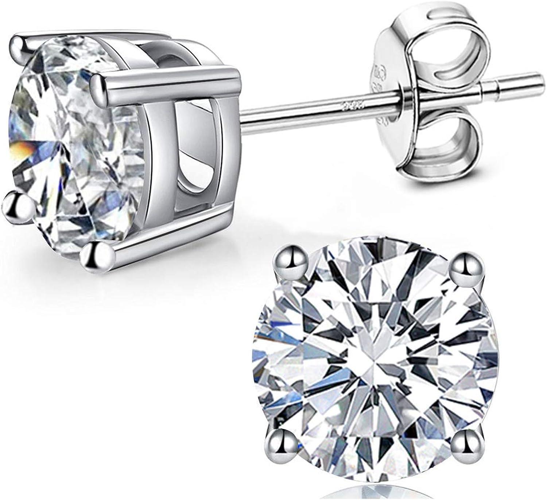 crystal Skull glass lava sterling silver earrings