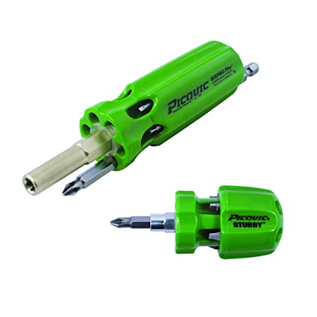 Picquic 44105 Dynamic Duo Sixpac Plus and Stubby Combo Pack, Gecko Green  Opaque