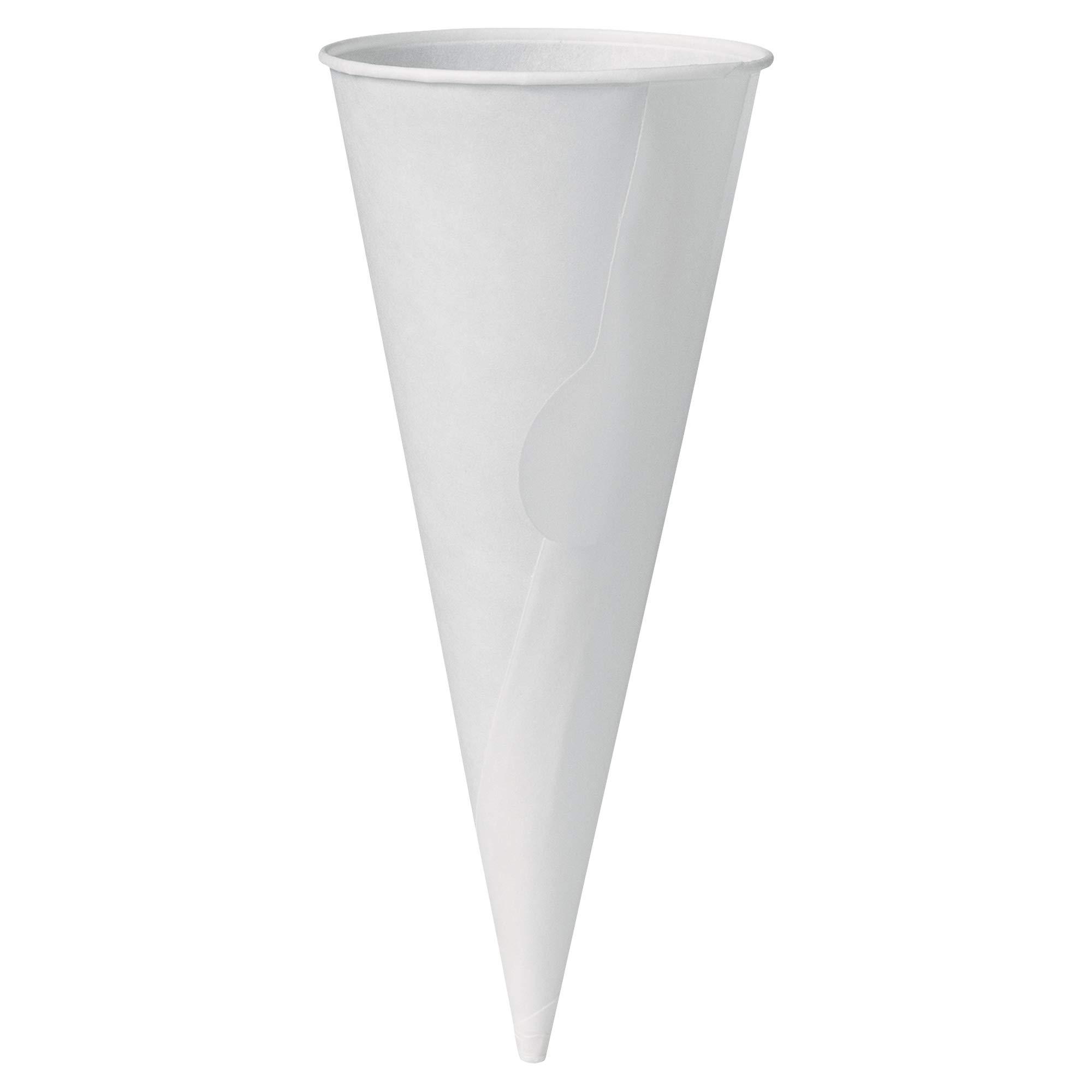 Solo 904R-2050 4 oz White Paper Cone Jacket (Case of 6000)