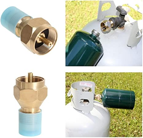 Gas Tank Adapter Replacement Supply Connector Camping Outdoor Hiking Hot Sale