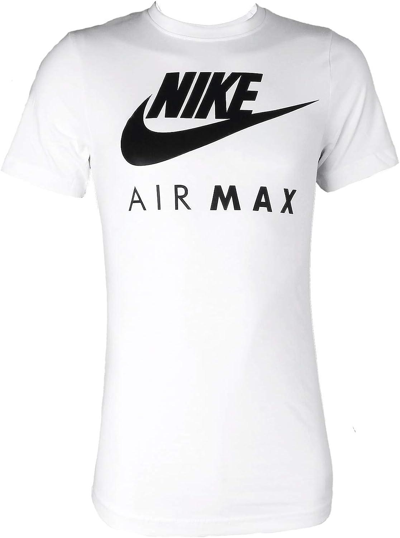Nike Air Max - Camiseta de manga corta y cuello redondo, para hombre S-2X L