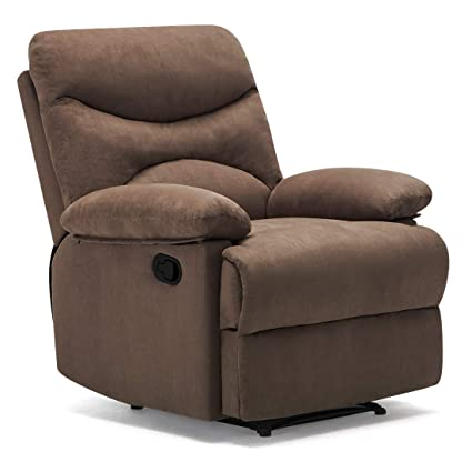 Pleasing Asian Furnitech Aden One Seater Recliner Colour Brown Creativecarmelina Interior Chair Design Creativecarmelinacom