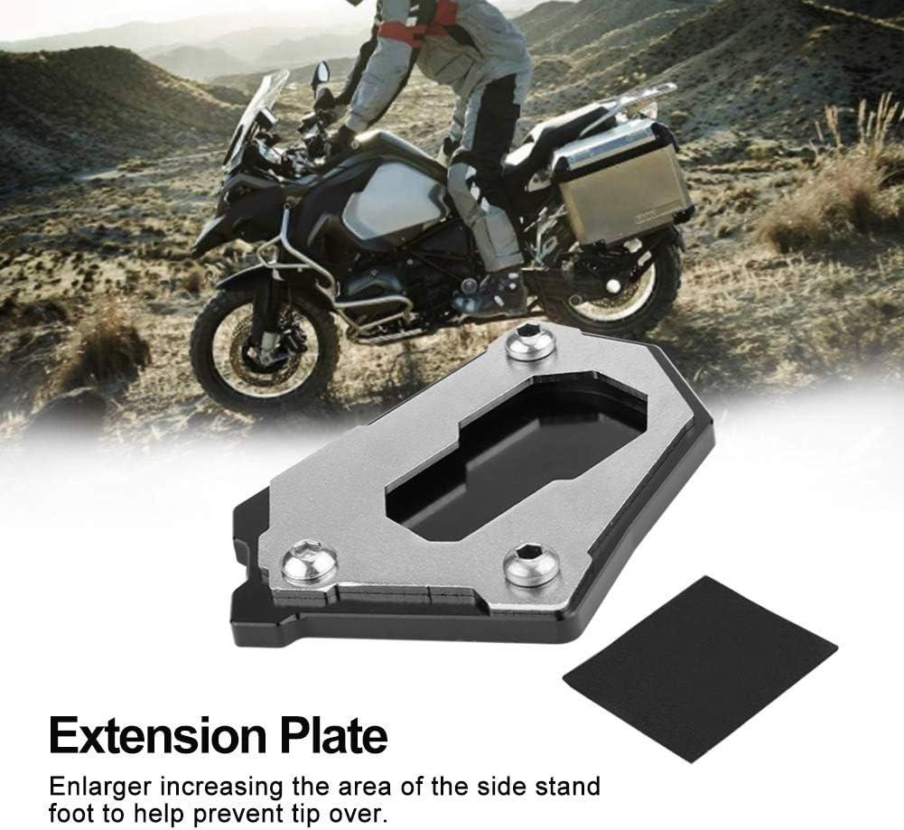 KSTE Placa Lateral de la Motocicleta Pata de Cabra Extensi/ón Compatible with B-M-W R1200GS LC 13-16//14-16 LC R1200GS Adventure