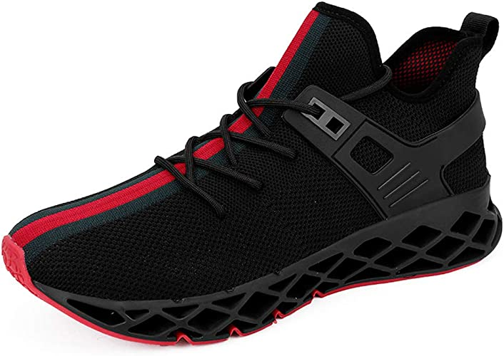 Mens Shoes Mesh Breathable Casual Trainers Jogging Soft Sports Running Shoes