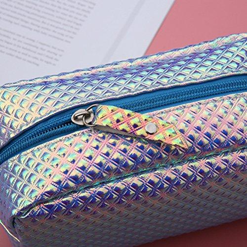 Frcolor Kosmetiktasche - Waterproof Toiletry Reisetasche Make-up Tasche (lila) Lila