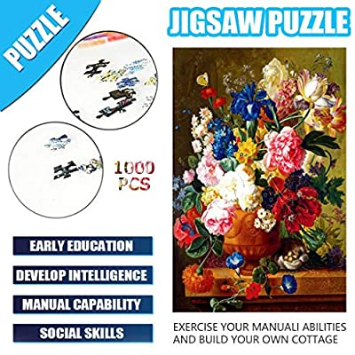 Adults Puzzles 500/1000 Piece Paper/WoodenLarge Puzzle Game Interesting Toys Personalized Gift: Clothing