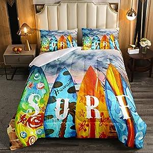 61%2BnF5LLjgL._SS300_ Surf Bedding Sets & Surf Comforter Sets