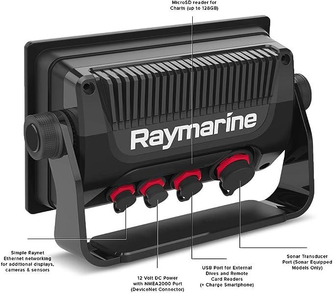 Raymarine - Pantalla Táctil con buscador de Peces Integrado y GPS ...