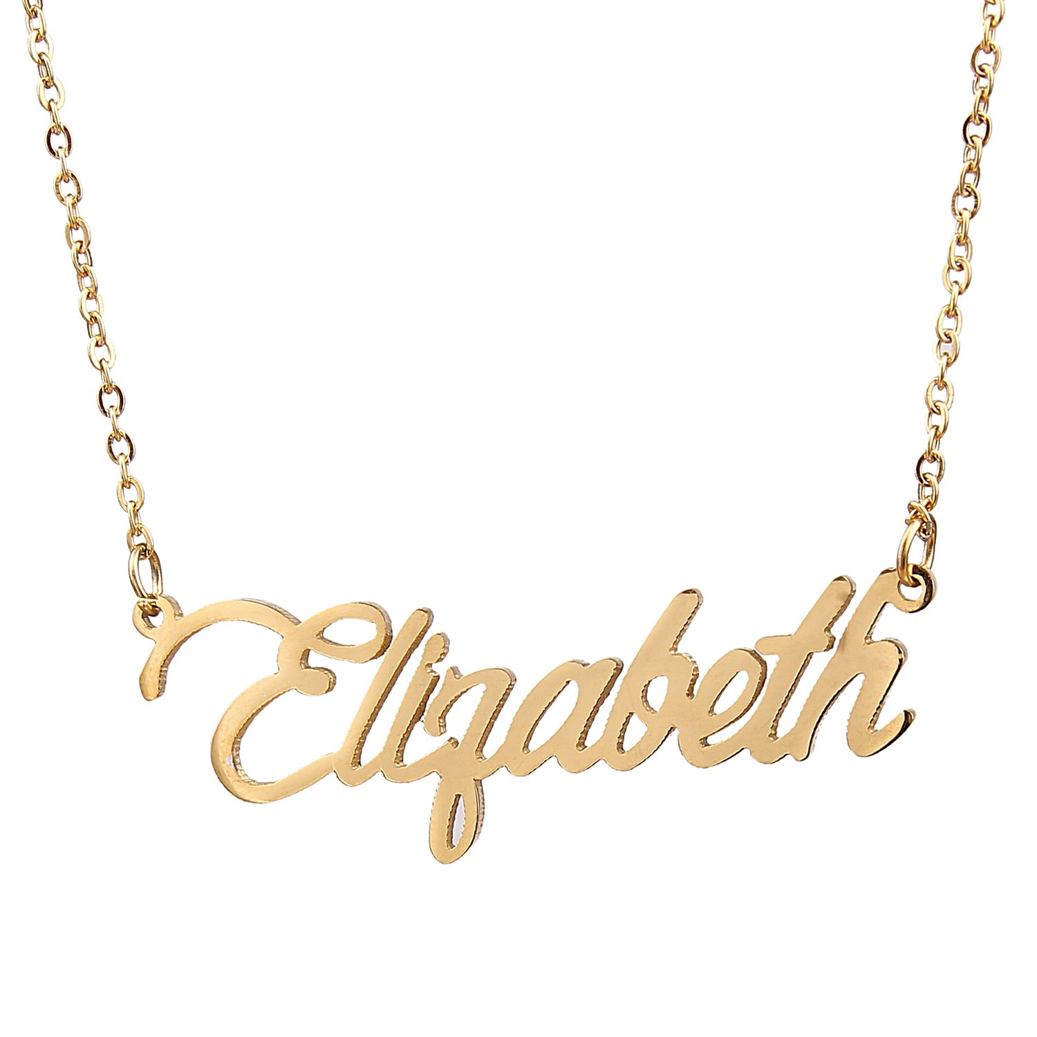 Amazon aolo casual name pendant necklace elizabeth pendant amazon aolo casual name pendant necklace elizabeth pendant jewelry jewelry aloadofball