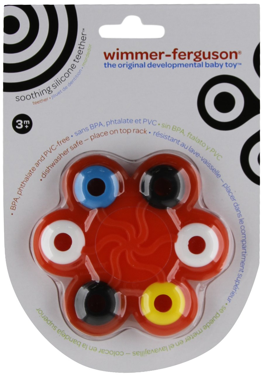 Manhattan Toy Wimmer-Ferguson Soothing Silicone Teether and Clutching Toy