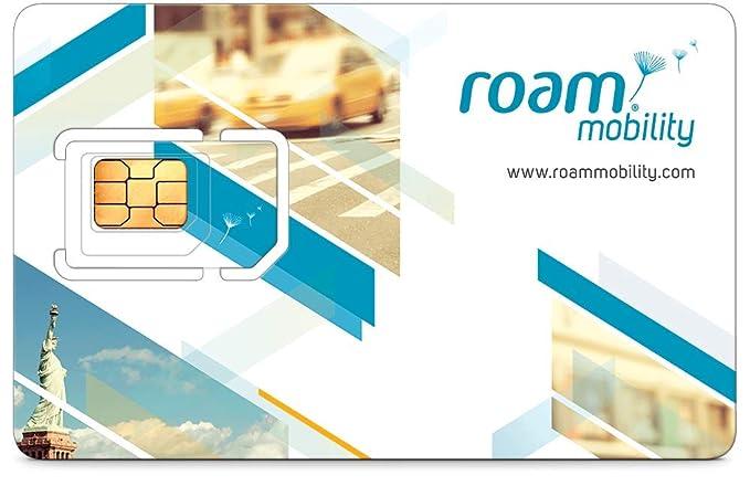 Roam movilidad 4 G LTE SIM tarjeta para Unlimited ...