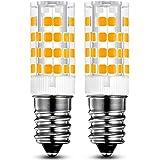 KINDEEP E14 lampadina LED - 5W / 400LM, equivalente di lampadine alogene da 40W, Bianco Caldo 3000K, 360 Angolo a fascio, 2-Pack