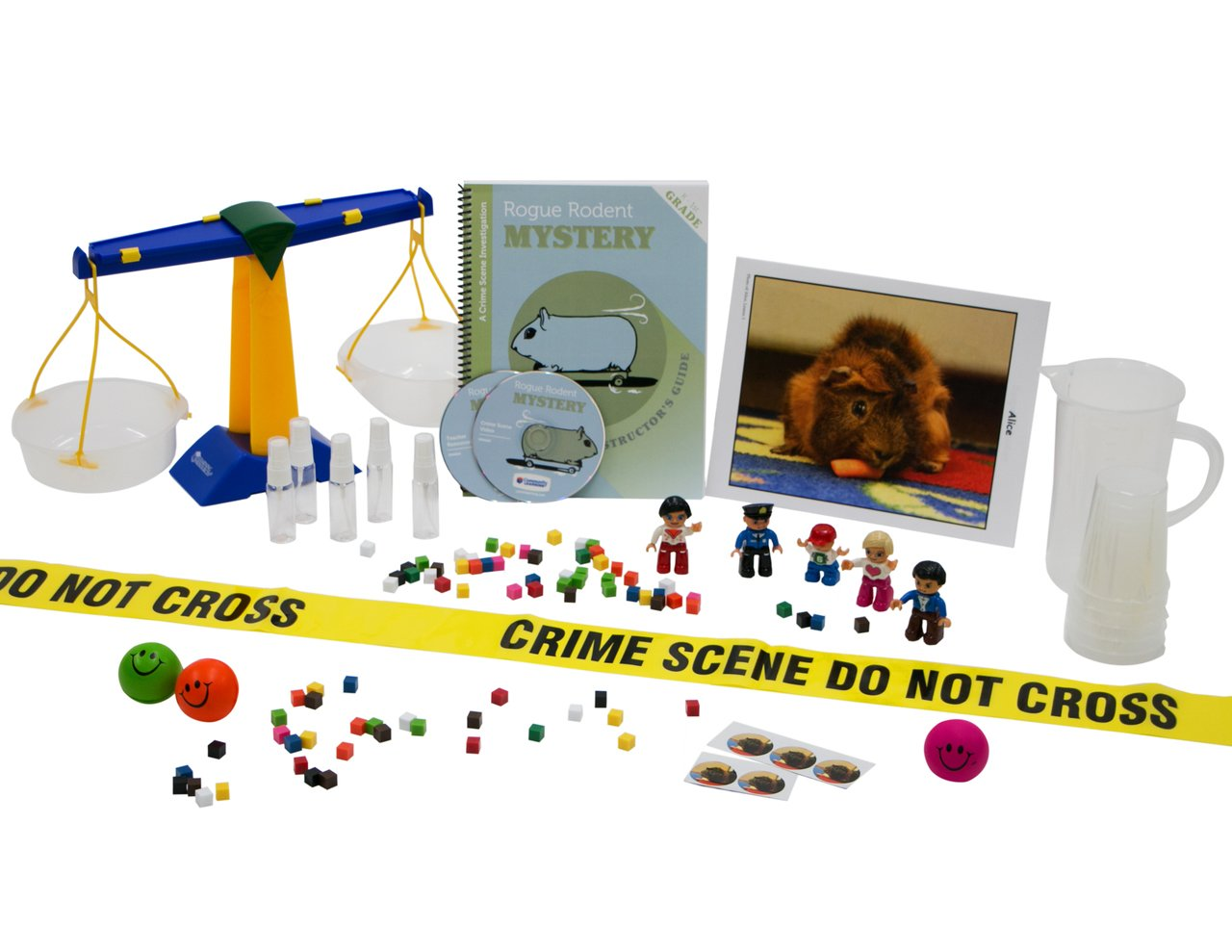 The Rogue Rodent Mystery:A Crime Scene Investigation for Grades K-1, Includes Essentials Supplies for Class of 30 and CD with Student handouts and Complete Supply List. by Community Learning