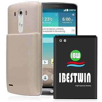 Batería de ion de litio de repuesto IBESTWIN para LG G3 ...