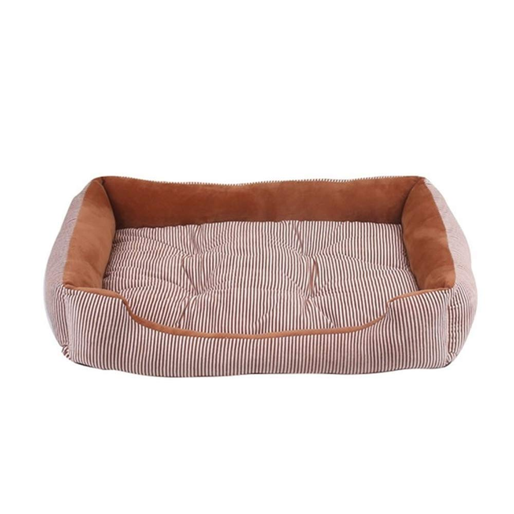 RuiHuang Dog Bed House Pad Cálido Invierno Pet House Nest Bed ...