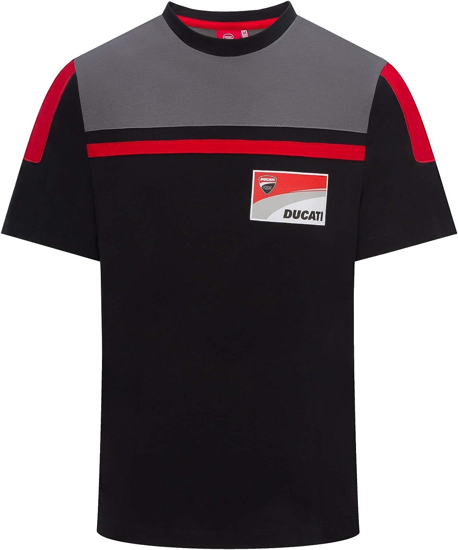Whybee 2019 Ducati Corse Racing MotoGP T-shirt pour homme Noir 100 /% coton Tailles S-XXXL