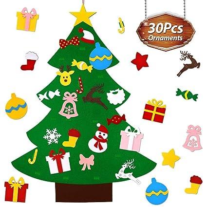 Amazon Com Euone Xmas Tree Diy Felt Christmas Tree Set With