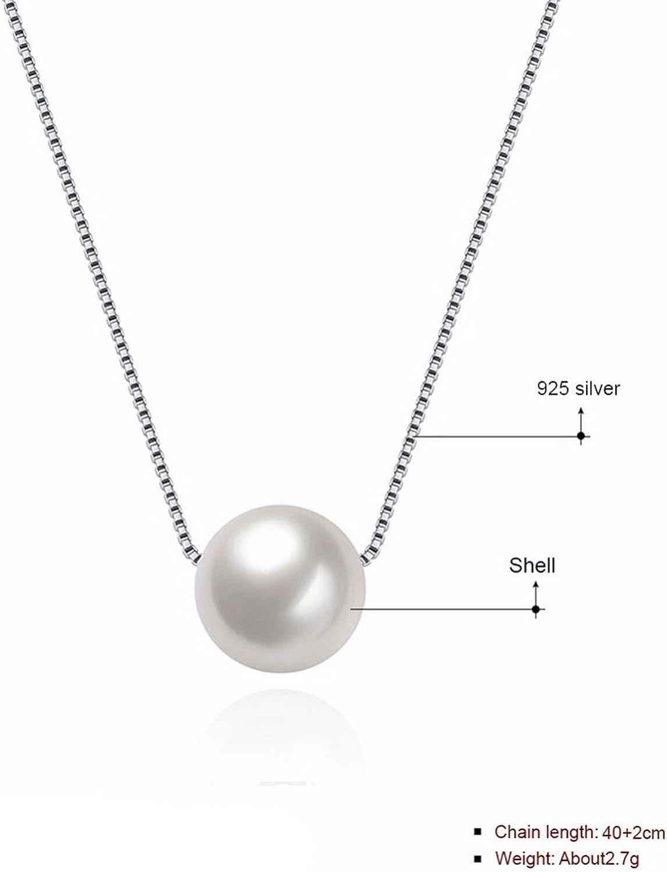 CS-DB Pendants Circle Silver Necklaces