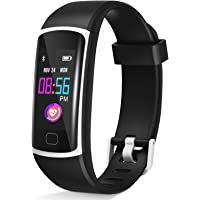 【2020 Version】 Upgraded Fitness Tracker, Waterproof Activity Tracker with Heart Rate Monitor and Sleep Monitor, Step…