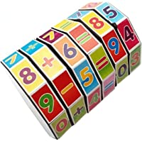 Kwish Present Math Counting Cubes Math Learning Toys Mathematics Learning Toys ADHD Fidget Toys ADHD Toys ADHD Toys for Kids Mindful Parenting for ADHD 3D Cube Puzzle 3D Cube