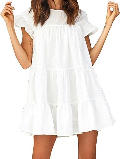 Auifor◕‿◕Vestido de Fiesta de la Tarde del Mini Vestido de la ...