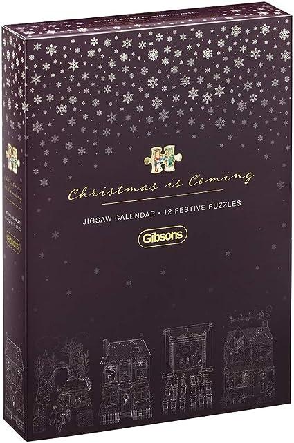 Amazon Com Gibsons Christmas Is Coming 2019 Advent Calendar