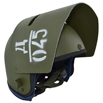 Gearcraft Replica Russian Helmet Maska-1 with Steel Vizor Olive for Special  Units Russian Army