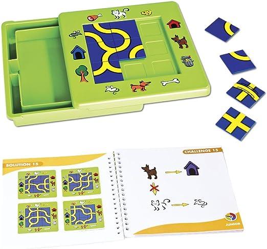 Smart Games - Gato y ratón, juego de ingenio con retos progresivos (51211), versión español: Amazon.es: Juguetes y juegos