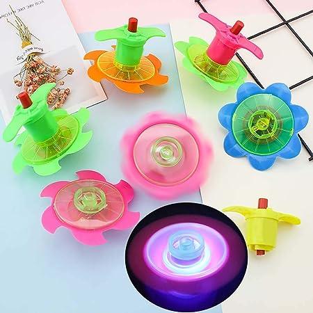 Catkoo Niños LED Flash Glowing Magic Spinning Top Gyroscope Kids ...
