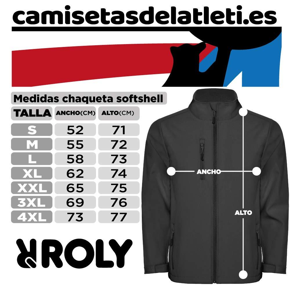 Chaqueta Polar Softshell Escudo Nuevo Camisetas del Atleti ...