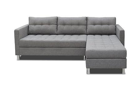 selsey copenhagen corner lounge chaise sofa in beautiful savanna rh amazon co uk grey chaise lounge sofa lounge chaise sofa bed