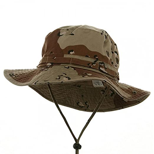 25009f6123f Amazon.com  Big Size Washed Hunting Hats -Desert (for Big Head ...