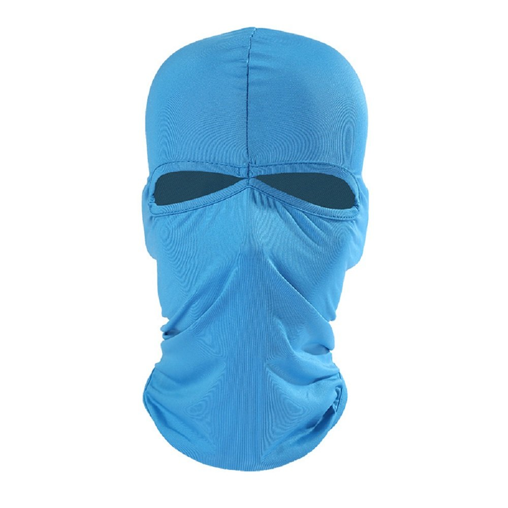 bdf315f152e Xiabing Balaclava Breathable Lightweight Lycra Ski Full Face Mask for  Cycling Sports Black