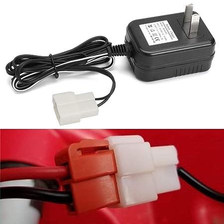 Adaptador de corriente Adaptador de cargador de batería de litio de CA de 6 V CA Fuente de alimentación EE. UU. Para Avigo Kid Juguete Equilibrio del ...