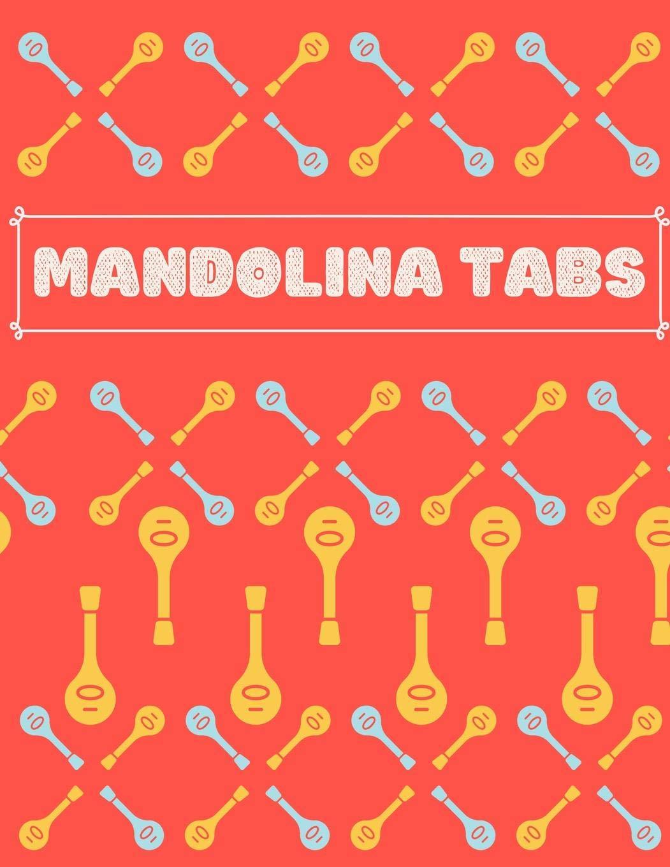 Mandolina Tabs: Cuaderno De Tablatura Para Mandolina | Escriba su ...