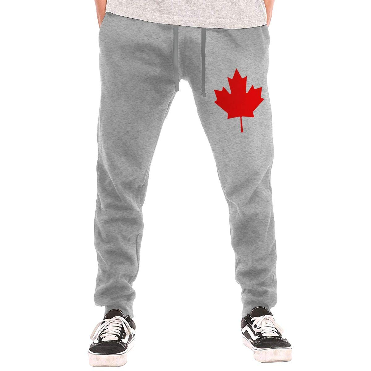 Mens' Canada Maple Leaves Sport Joggers Workout Athletic Pants NIOPC MIJFOP